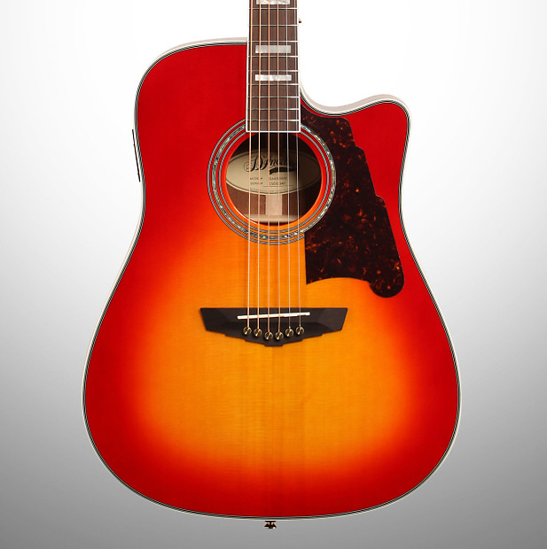 19519f6edf D'Angelico SD400 Brooklyn Dreadnought Acoustic-Electric | Reverb