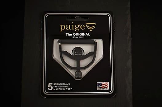 with no Radius PC-B5-1.812 Fits Past 4th Fret PAIGE Clik Banjo//Ukulele Capo
