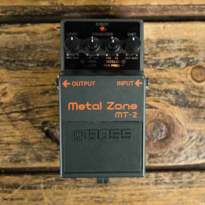 Boss MT-2 Metal Zone Distortion