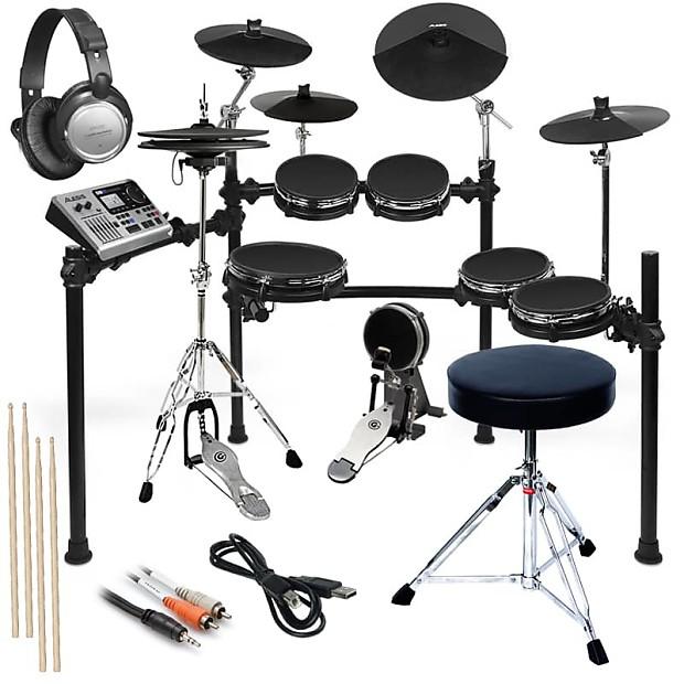 alesis dm10 studio mesh kit complete drum bundle reverb