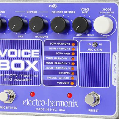 NEW ELECTRO HARMONIX VOICE BOX