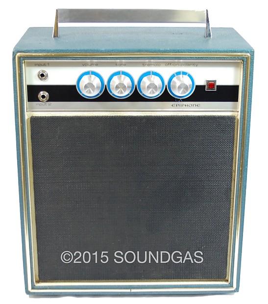Epiphone 101 rare mid-60s Valve Amplifier
