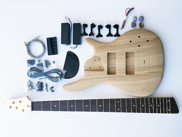 Fretwire Diy Guitar Kit : diy electric bass guitar kit 5 string ash bass reverb ~ Russianpoet.info Haus und Dekorationen