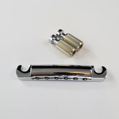 Light Weight Aluminum Stop Tail piece in Chrome