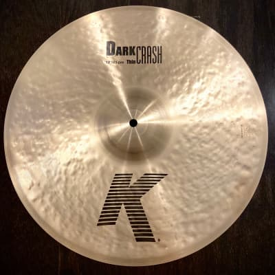 "Zildjian 18"" K Series Dark Thin Crash Cymbal (NEW Open Box Item)"
