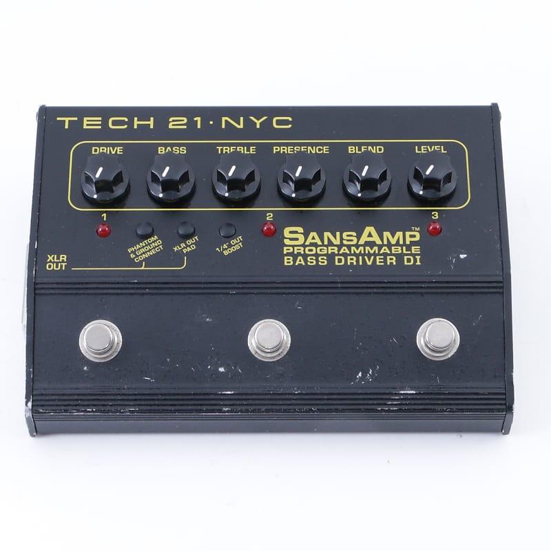 tech 21 programable bass driver di bass guitar effects pedal reverb. Black Bedroom Furniture Sets. Home Design Ideas