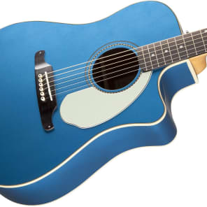 Fender Sonoran SCE Cutaway Dreadnought w/ Electronics Lake Placid Blue