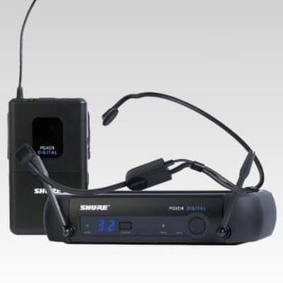Shure PGXD14/PGA31 Digital Wireless Headworn Microphone System