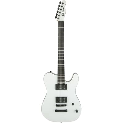 Charvel Pro Mod San Dimas Joe Duplantier Signature E-Gitarre, Satin White for sale