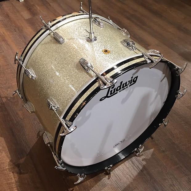 59baecfea08b Description  Shop Policies. Here we have a beautiful Vintage Ludwig 22x14 Bass  Drum ...