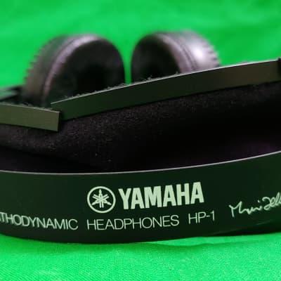 Vintage Yamaha HP-1 Orthodynamic Stereo Headphones / Japan (1970's)