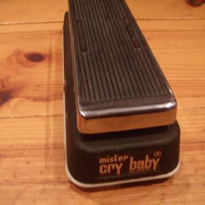 JEN Mister Cry Baby Super Wah/Vol '70's Chrome/Black for sale
