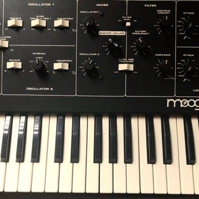 Moog Prodigy 1979 Black