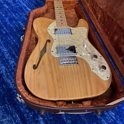 Fender Classic Series '72 Telecaster Thinline 2000 - 2018 Blonde for sale