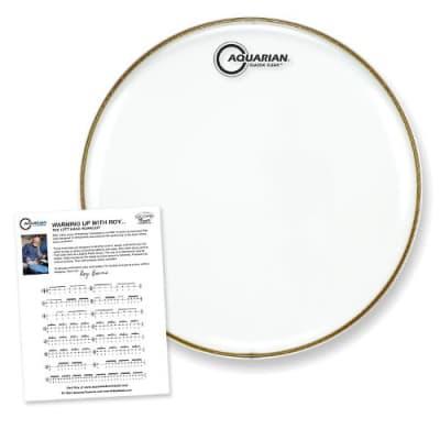 """Aquarian 12"""" Classic Clear Drumhead"""