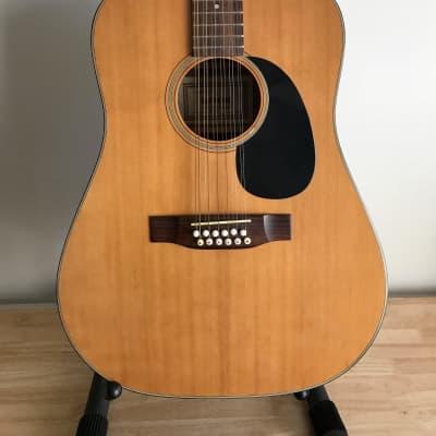 1970 Dixon Model 386 12-String Acoustic - Natural for sale