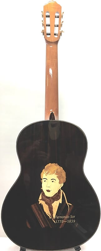 "Merida 39"" solid cedar and rosewood model MC-10 Fernando Sor Classical Guitar image"