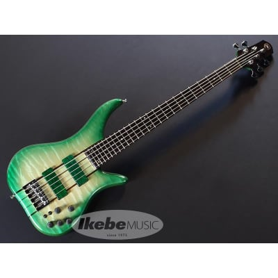 Phoenix PH-III-5 33inch HYB-II Quilted Maple Top/Green Burst -Made in Japan for sale