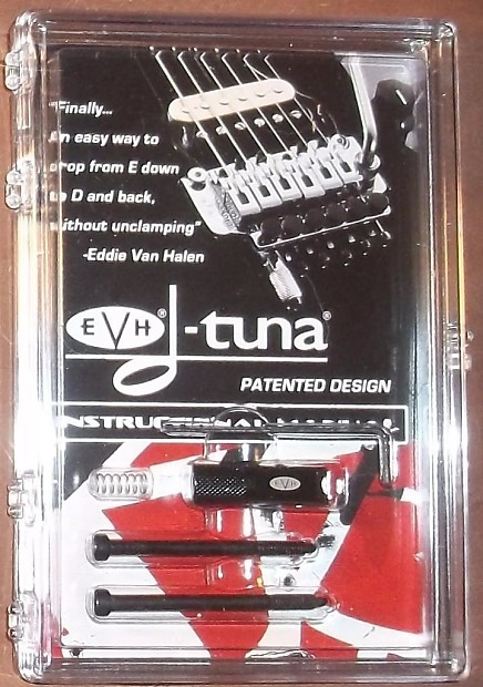 a1b2747df49 Description  Shop Policies. The EVH D-Tuna is a unique patented device that enables  players to drop the E ...