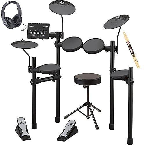 yamaha dtx402k 5 piece electronic drum set electronic drum reverb. Black Bedroom Furniture Sets. Home Design Ideas