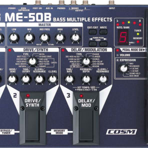 Boss ME-50B Bass Multi-Effects Unit for sale