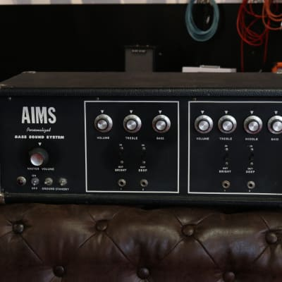 1970's Aims Personalized Bass 120 watt for sale