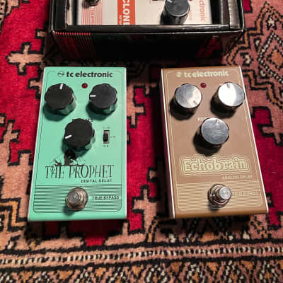 TC Electronic Lot 3x pedals Echobrain The Prophet Vibraclone