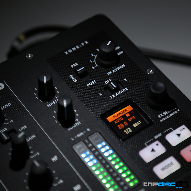 allen and heath xone px5 analogue dj mixer soundcard reverb. Black Bedroom Furniture Sets. Home Design Ideas