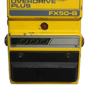 Dod FX50B Overdrive Plus Guitar Effects Pedal for sale