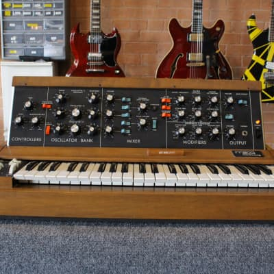 1977 Moog Minimoog Model D Analog Synthesizer Original Vintage Synth