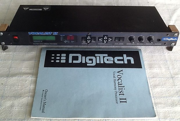 Digitech Vocalist II Harmonize...