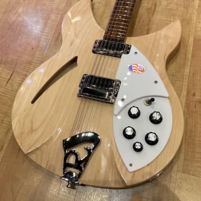 Rickenbacker 330/12 12-String Electric Guitar 2020 MapleGlo for sale
