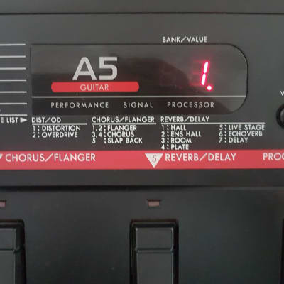 KORG A5 Multi-Effects Guitar Processor for sale