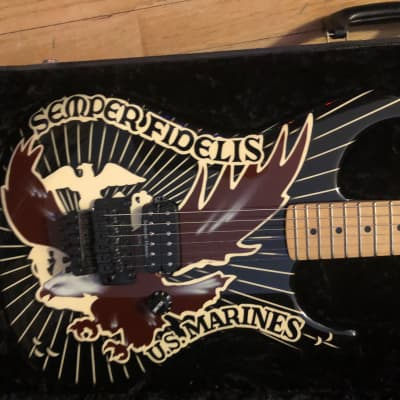 Gary Kramer U.S.M.C. Semper Fidelis  Custom shop for sale