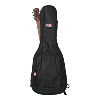 Gator 4G Series - Acoustic Guitar Padded Gig Bag w/ Backpack Straps