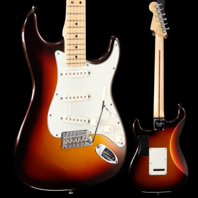 Fender American DX Strat Plus Mpl Fb Mystic 3-Color SB US14040633 USED 8lbs 6.1oz for sale