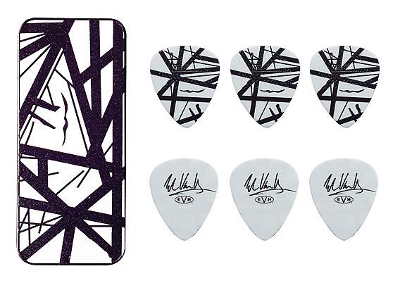 eddie van halen guitar picks evh black stripes max grip pick reverb. Black Bedroom Furniture Sets. Home Design Ideas