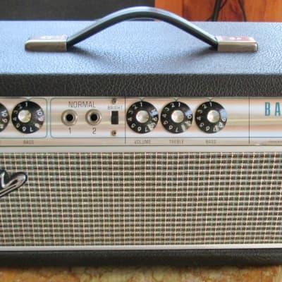Fender Silverface Drip Edge Bassman 1968