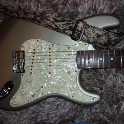 Fender Robert Cray Stratocaster Inca Silver w/Gig Bag for sale