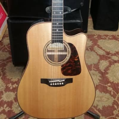 Takamine  Takamine P7DC Acoustic-Electric  2016 Gloss Natural for sale