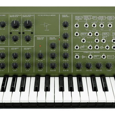 Korg MS-20 Full Size - Limited Edition (IN STOCK) - Green