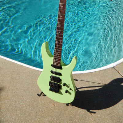 Robin Medley Custom 1992 Metallic Mint Green for sale