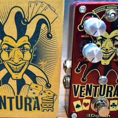 DigiTech Ventura Vibe Rotary Vibrato Tremolo Guitar Effect Pedal Used