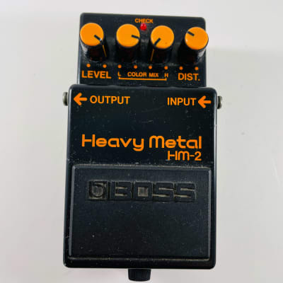 Boss HM-2 Heavy Metal (Black Label) *Sustainably Shipped*