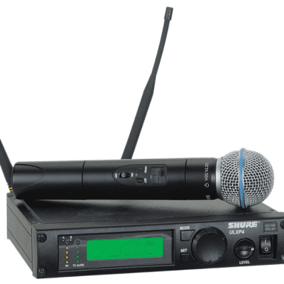 Shure ULXP24/BETA58 Wireless Microphone System - G3 Band