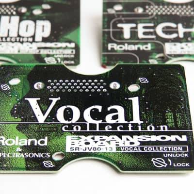 Roland SR-JV-13 Vocal Collection