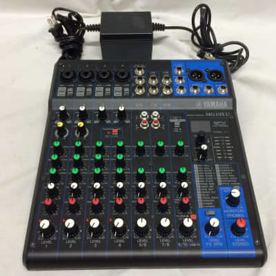 Yamaha MG10XU 10 Input Mixer w/ Compression, Effects and USB Customer Return