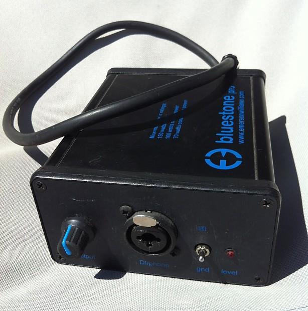 Emerson Williams Bluestone Pro speaker emulator load box DI box