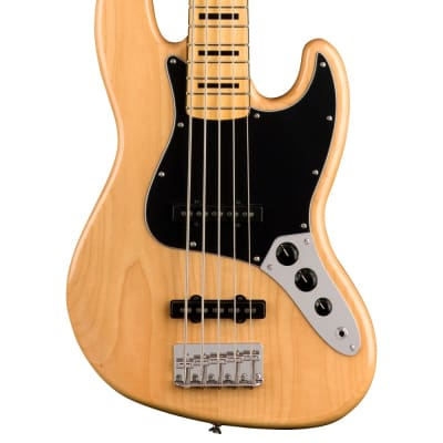 NEW Squier Classic Vibe '70s Jazz Bass V - Natural (258)