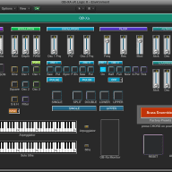 Virtual Oberheim OB-Xa editor / programmer - (Encore 1.2) - LOGIC v4 - X